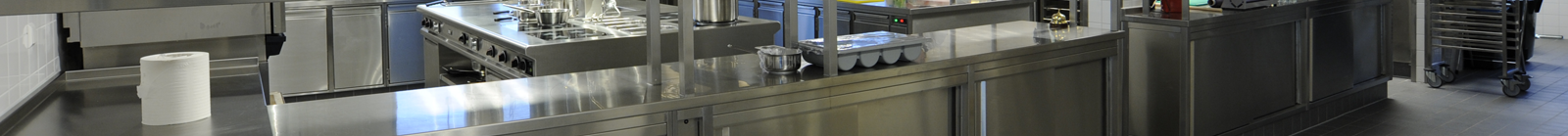 RVS uitgifte keuken